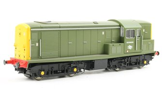 Class 15 ADB968000 in Sherwood Green with Full Yellow Ends (Carriage Pre-Heat unit)