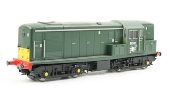 Class 15 D8242 in Green with SYP with serrifed numbers and double arrows