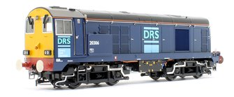 Class 20/3 20306 DRS Blue Diesel Locomotive (DCC Sound)