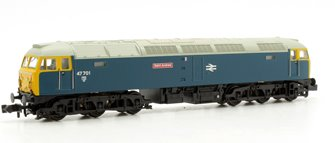 Class 47/7 'Saint Andrew' #47701 BR Blue