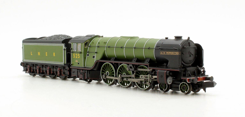 Class A2 'A H Peppercorn' #525 LNER Apple Green