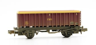 46 Tonne glw MEA Open Mineral Wagon EWS Weathered