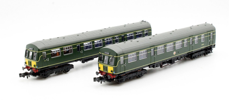 Class 101 2 Car DMU BR Green