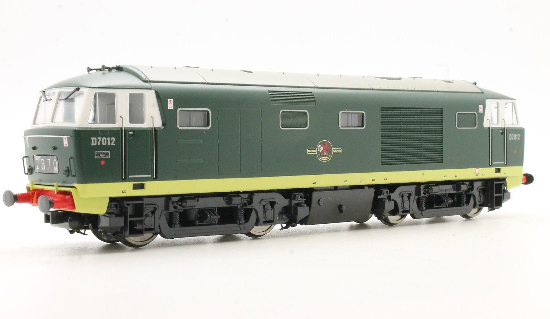 Class 35 D7012 in plain green