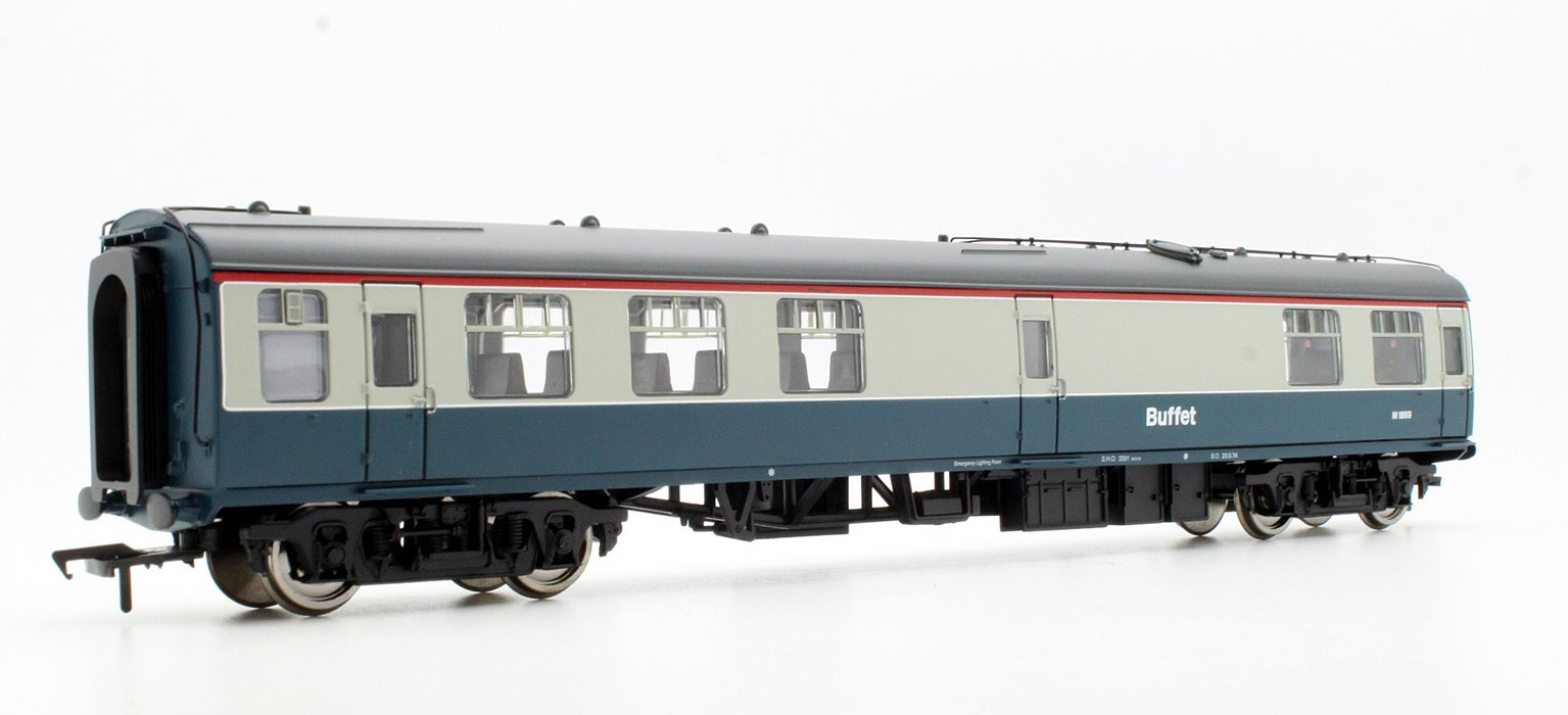 BR Mk1 RMB Miniature Buffet Car Blue & Grey