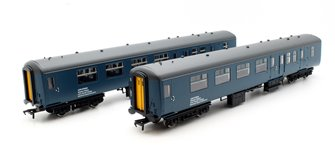 Twin Pack BR Mk2A BFK HST Barrier Vehicles