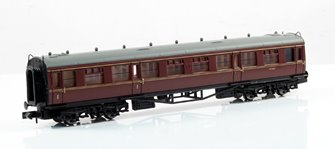 BR Maroon/Crimson Composite Collett Coach #W7021