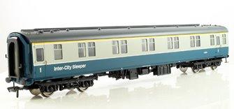 BR MK1 SLF Sleeping Car First Class Coach Blue & Grey Intercity