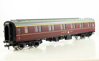 BR Mk1 SLF Sleeping Car First Class Coach Maroon