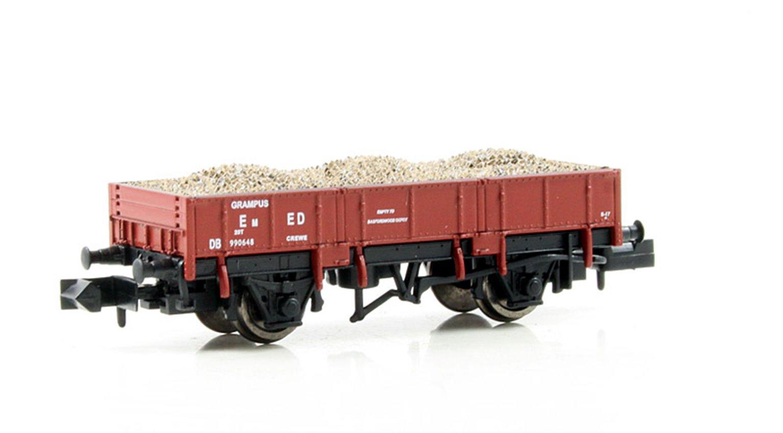 Dapol 2F-060-002 Grampus Wagon #DB990648 Indian Red