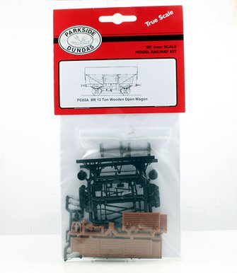 BR 13 Ton Wooden Open Wagon Kit