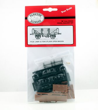 LNER 12 Ton 5 Plank Open Wagon Kit