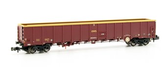 MBA Megabox High-Sided Bogie Box Wagon (Buffers) EWS Wthd