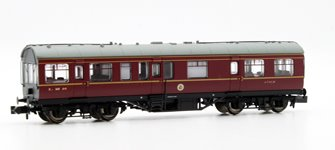 LMS 50ft Inspection Saloon LMS Lined Crimson Lake