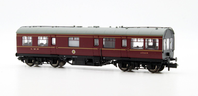 LMS 50ft Inspection Saloon LMS Lined Crimson Lake