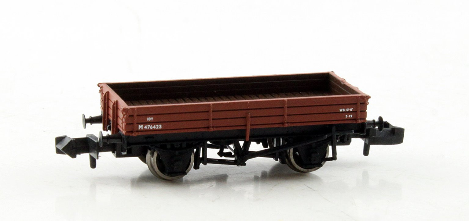 3 Plank Wagon BR Bauxite (Early)