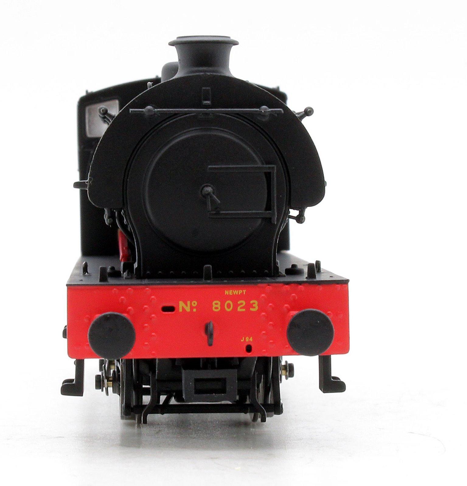 Class J94 0-6-0 Steam Locomotive #8023 LNER with original bunker height