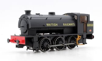 Class J94 0-6-0 Steam Locomotive  #68068 'British Railways' with tall bunker