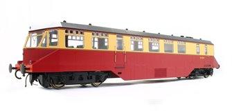 GWR AEC 'Razor Edge' Railcar BR crimson/cream (white cab roof) No.W20W