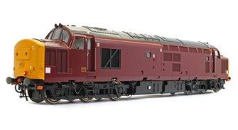 Class 37/4 EWS Royal Scotsman Maroon Unnumbered Diesel Locomotive