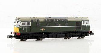 Class 27 D5401 BR Green Diesel Locomotive