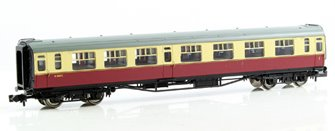 Bulleid 63ft Composite Corridor BR Crimson & Cream