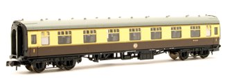 BR Mk1 FK First Corridor Chocolate & Cream