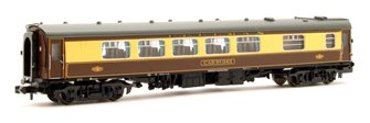 BR Mk1 SK Pullman Second Kitchen Car 'Car 343' Umber & Cream
