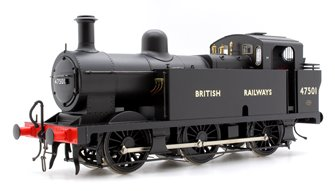 Class 3F 'Jinty' 0-6-0T in BR Black with 'BRITISH RAILWAYS' Lettering - DCC Sound