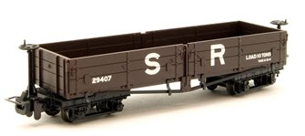 Open Bogie Wagon in SR Brown livery
