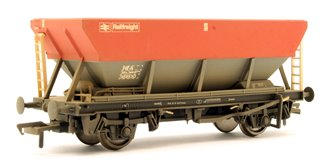 46 Tonne HEA Hopper BR Railfreight Red & Grey Weathered