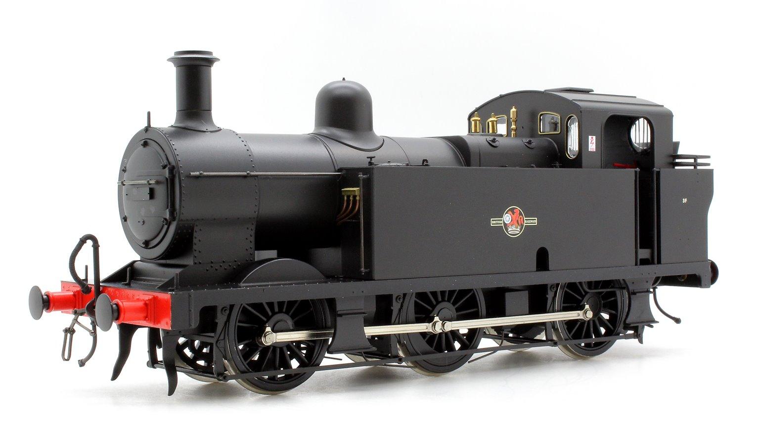 Class 3F 'Jinty' 0-6-0T in BR Black With Late Crest - Unnumbered
