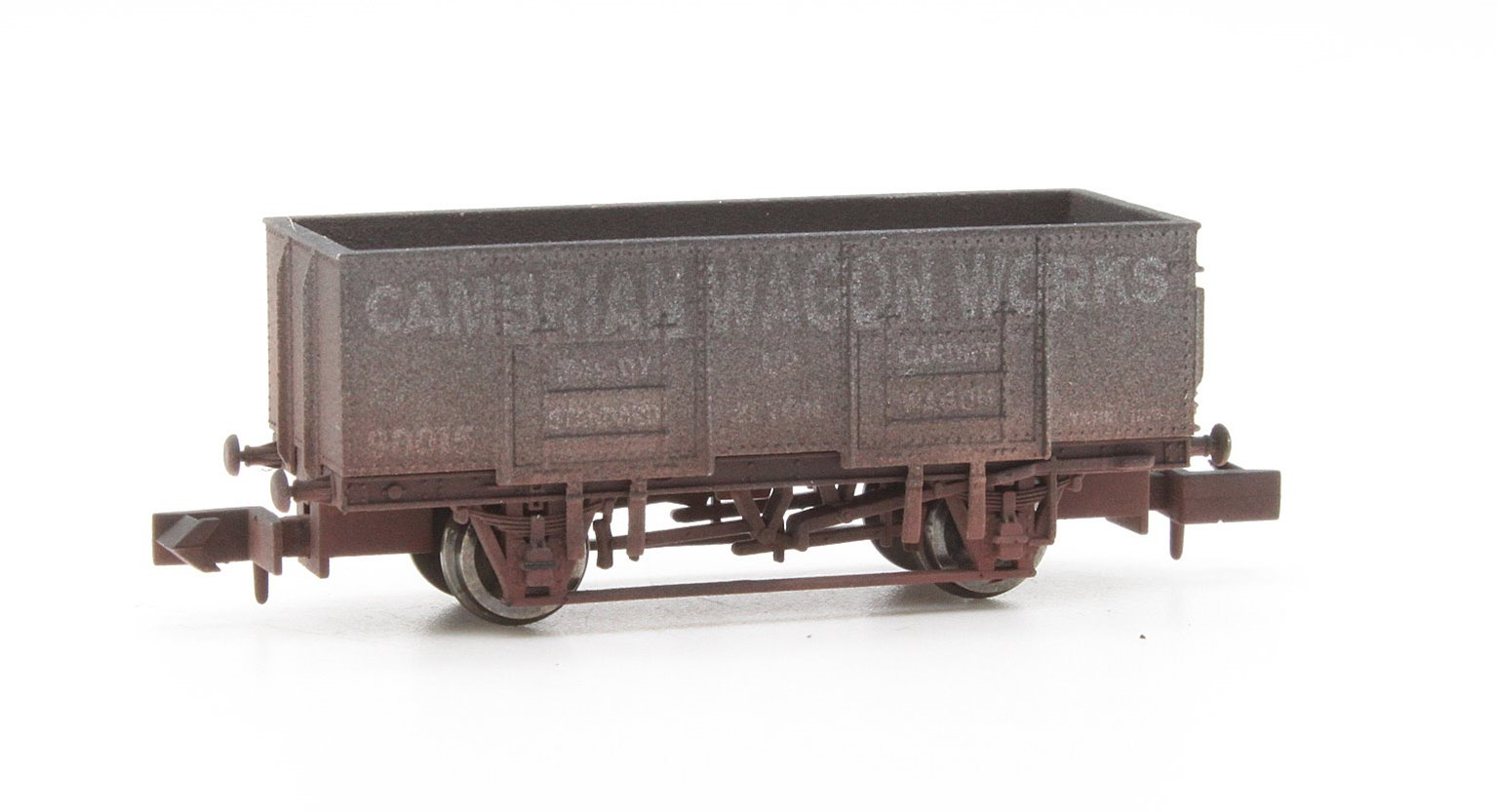 Dapol 2F-038-024 20T Steel Mineral Cambrian Wagon Works Weathered
