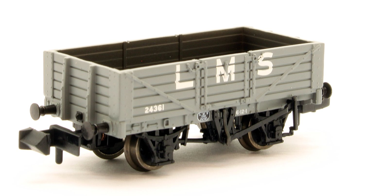 5 Plank Wagon Wooden Floor LMS with Load