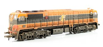 Class 071 IE Orange Livery Diesel Locomotive #085 - Weathered