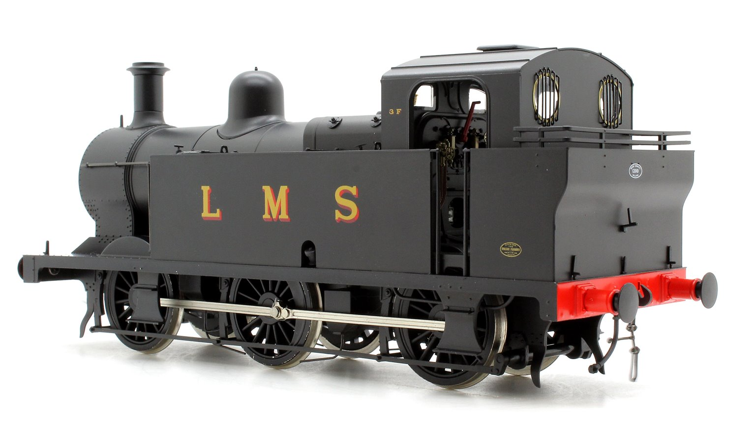Class 3F 'Jinty' 0-6-0 in Late LMS Black - DCC Sound & Unnumbered