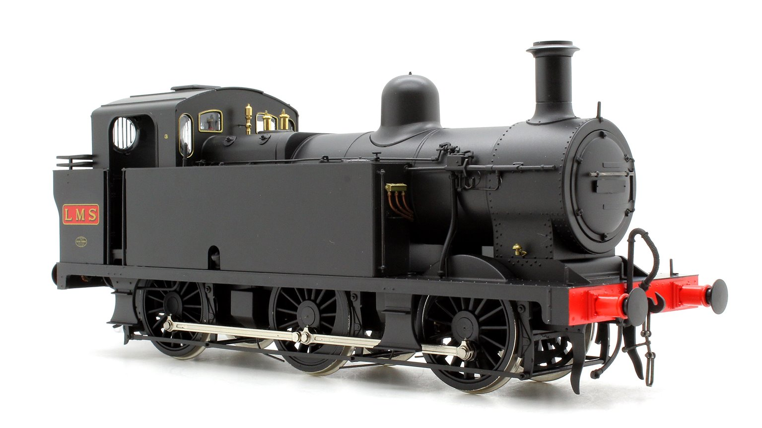Class 3F 'Jinty' 0-6-0 in Early LMS black- Unnumbered