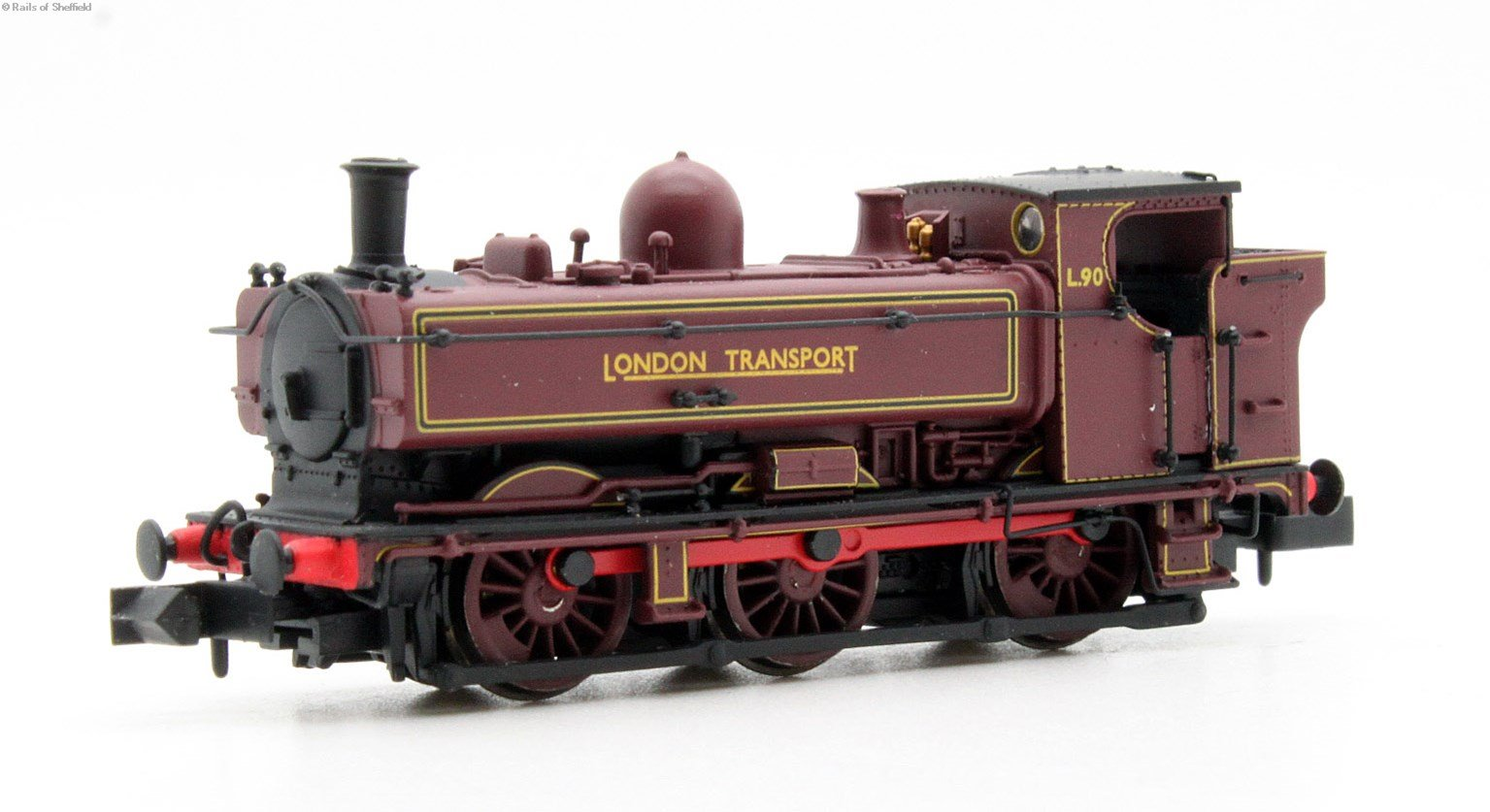 Pannier L95 London Transport Red Early Cab DCC Fitted
