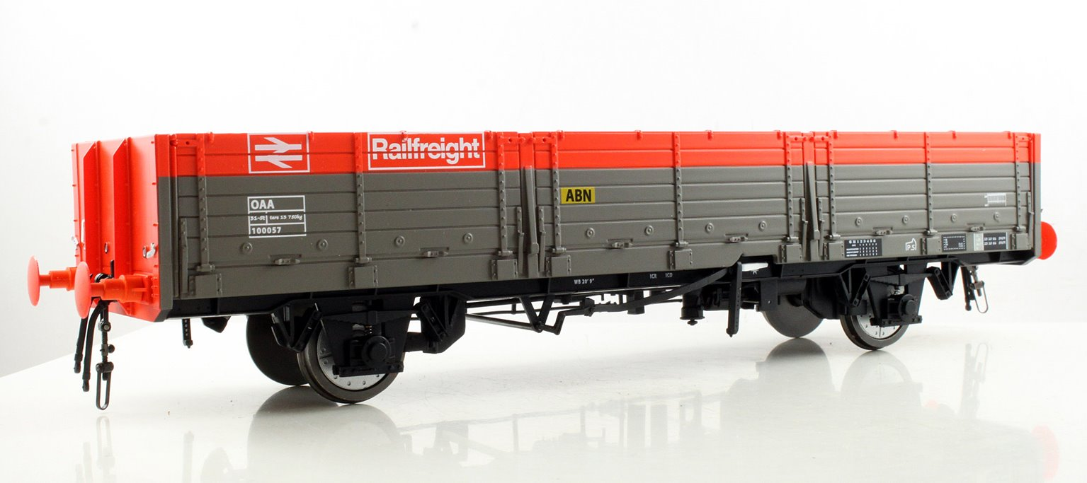 OAA Open Wagon Railfreight ABN Red/Grey