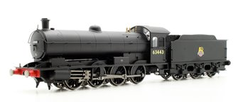 BR 0-8-0 Raven Q6 Class - BR Early Locomotive 63443