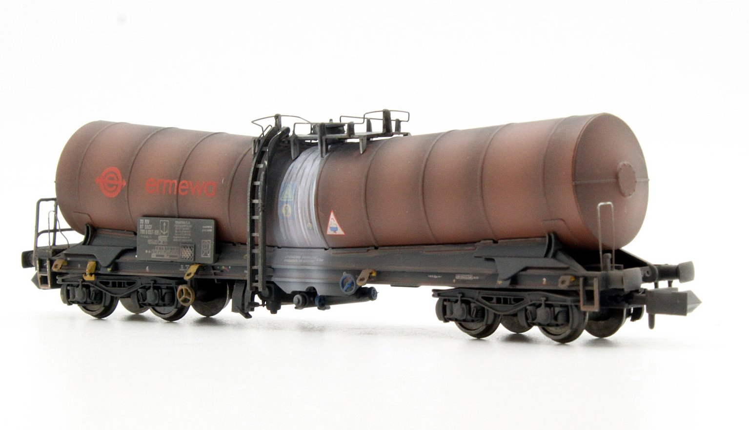 Silver Bullet Ermewa 33 87 789 8037-9 Weathered