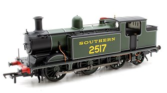 Class E4 Southern Green 0-6-2 Tank Locomotive 2517