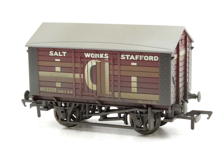 10 Ton Covered Salt Wagon 'ICI' Weathered