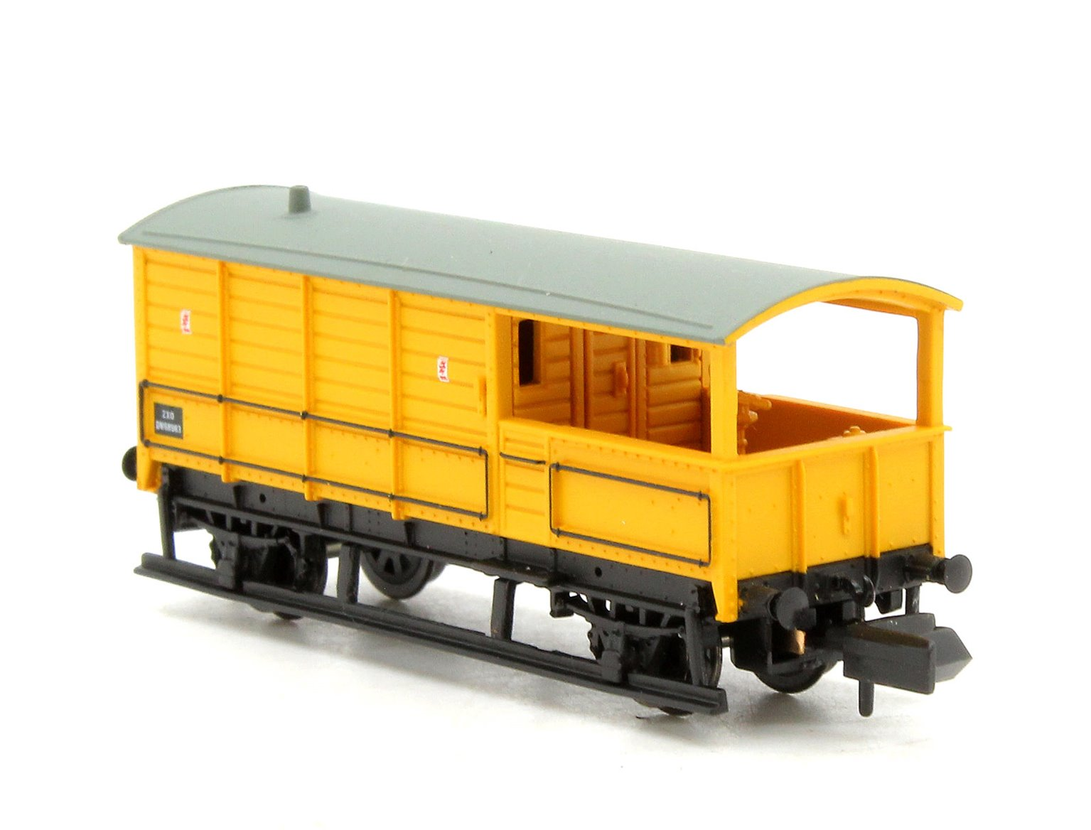 20 Ton Toad Brake Van BR Departmental Yellow