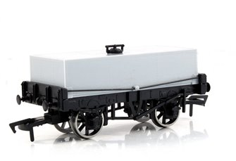 Unpainted Rectangular Tank Wagon