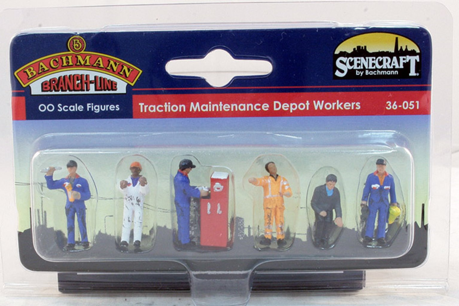 Figures - Traction Maintenance Depot Workers