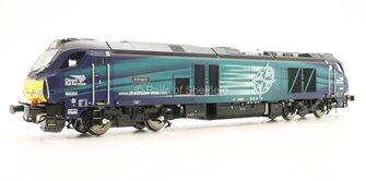 Class 68 Intrepid 68002 DRS