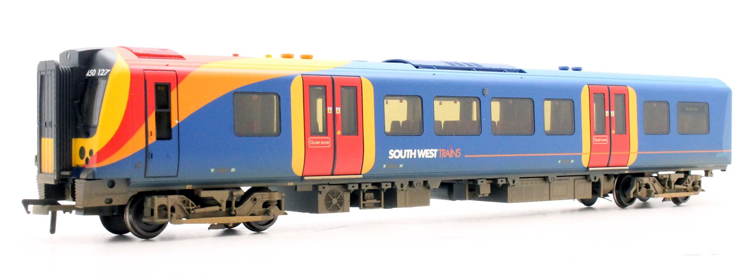 Class 450 4 Car EMU 450127 South West Trains Weathered
