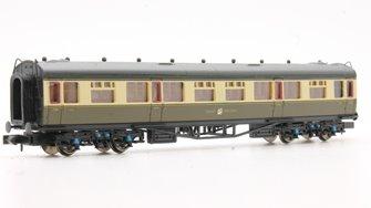 Collett Coach GWR Crest Chocolate & Cream 3rd Class 1116