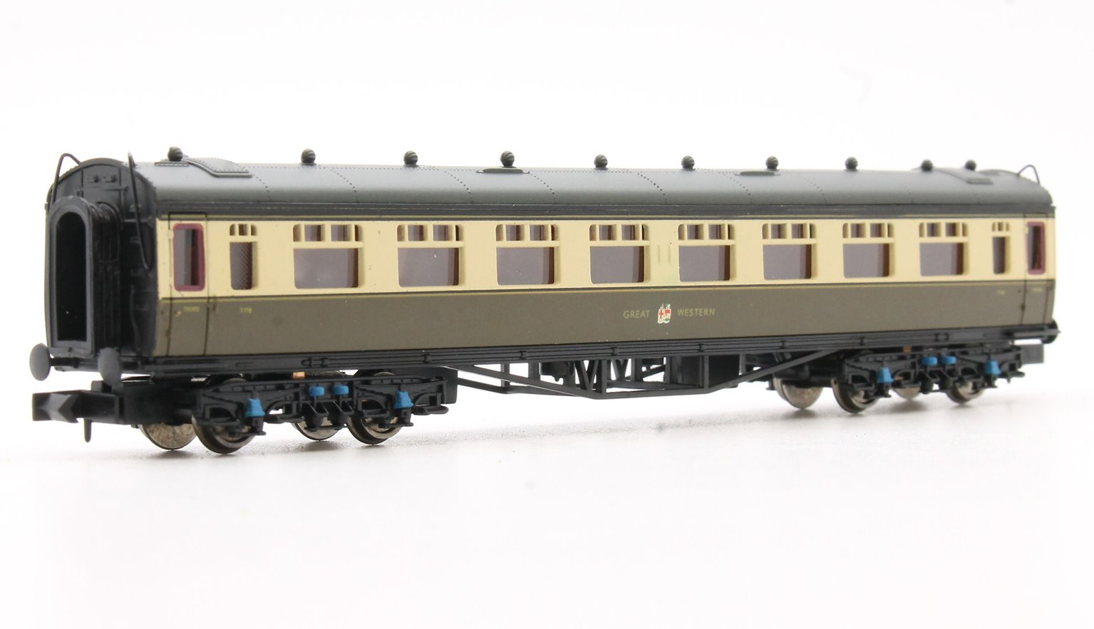 Collett Coach GWR Crest Chocolate & Cream 3rd Class 1116